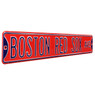 Boston Red Sox Red Authentic Street Signs 6 x 36 Steel Team Street Sign