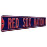 Boston Red Sox Nation Authentic Street Signs 6 x 36 Steel Team Street Sign