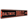 Baltimore Orioles Authentic Street Signs 6 x 36 Steel Team Street Sign