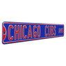 Chicago Cubs Authentic Street Signs 6 x 36 Steel Team Street Sign