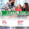 Fenway Park Green Authentic Street Signs 6 x 36 Steel Street Sign