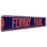 Fenway Park Navy Authentic Street Signs 6 x 36 Steel Street Sign