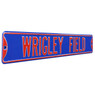 Wrigley Field Blue Authentic Street Signs 6 x 36 Steel Street Sign
