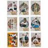 Reggie Jackson 1990 Upper Deck Heroes 9 Card Baseball Set