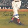Ted Williams Autographed Perez-Steele Great Moments Jumbo Postcard # 13 (PSA-35)