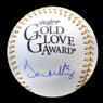Don Mattingly Autographed Rawlings Gold Glove Logo Baseball (JSA)