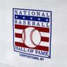 Baseball Hall of Fame Logo Navy Trim Canvas Tote Bag