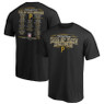 Men's Pittsburgh Pirates Black Team Hall of Famer Roster T-Shirt