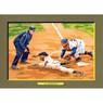 Al Barlick Perez-Steele Hall of Fame Great Moments Limited Edition Jumbo Postcard # 86
