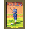 Cap Anson Perez-Steele Hall of Fame Great Moments Limited Edition Jumbo Postcard # 96