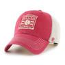 Men's '47 Brand Baseball Hall of Fame Official Logo Hudson Snapback Adjustable Trucker Cap