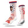 Strideline Bryce Harper Full Image Premium Crew Socks