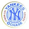 New York Yankees 1977 World Series Champions Logo Stadium Chase Pin