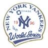 New York Yankees 1996 World Series Champions Logo Stadium Chase Pin