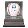 Bruce Sutter Autographed Hall of Fame Logo Baseball with HOF Case (MAB)