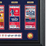 Highland Mint Boston Red Sox World Series Deluxe Framed Gold Coin & Replica Ticket Collection