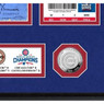 Highland Mint Chicago Cubs World Series Deluxe Framed Gold Coin & Replica Ticket Collection