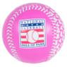 Baseball Hall of Fame Pink All Over Hearts Replica Baseball