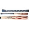 Baseball Hall of Fame Full Size 34 inch Americana Flag Bat