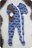 Lullaby Line Snap Pajamas