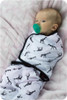 Sleep Tight Swaddle sewing pattern