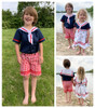 Anchors Aweigh Sailor Romper Pattern