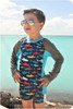 Hang Ten Rash Guard sewing pattern