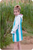 Girls Long Sleeve Swim Cover-Up