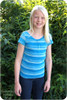 Tween t-shirt sewing pattern