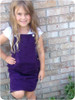 Girl's Overalls Jumper Sewing Pattern