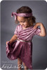 Madeline Crossover Dress and Top Sewing Pattern: short sleeves with fish tail skirt