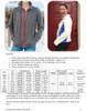 Cascade Fleece Jacket Size Chart