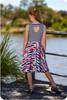 Heart back dress sewing pattern