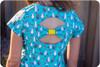 Bow back dress sewing pattern
