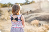 Bow back dress sewing pattern