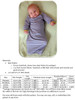 Lullaby Line Baby Gown Pattern