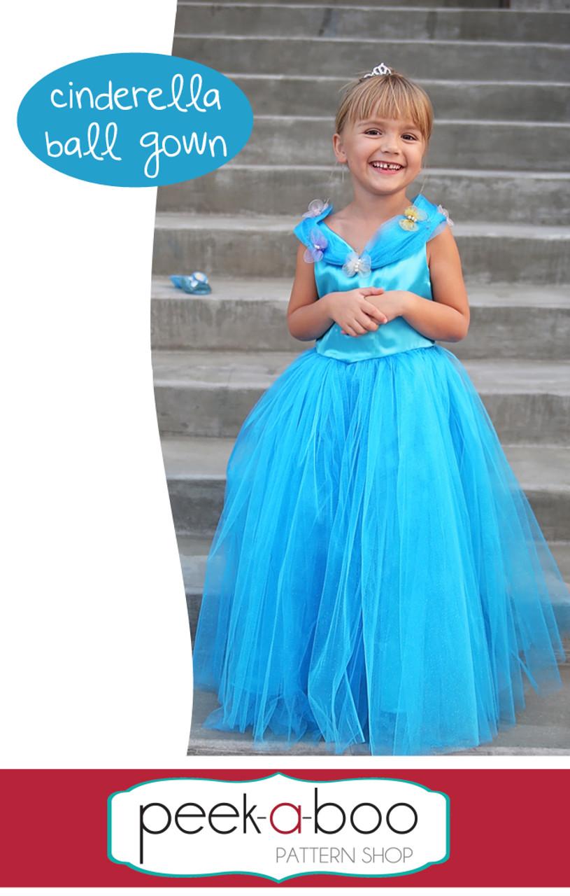 Cinderella Ball Gown Peek A Boo Pattern Shop