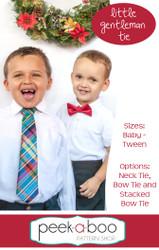 Little Gentleman Neck Tie and Bow Tie Pattern