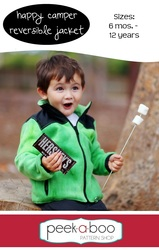 Happy Camper Reversible Jacket Pattern