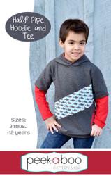 Half Pipe Hoodie & Tee sewing pattern