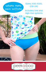 Bahama Mama Bikini Bottoms Sewing Pattern