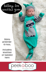 Lullaby Line Knotted Baby Gown Pattern