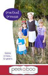 Practical Princess Dress Sewing Pattern
