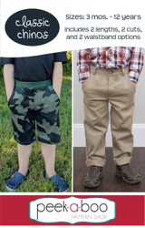 Classic Chinos Sewing Pattern