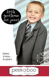 Little Gentleman Suit Jacket Pattern