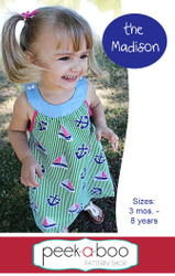 Madison Dress PDF Sewing Pattern