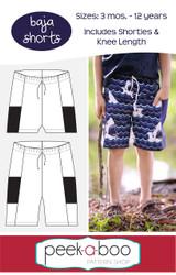 Baja Shorts Pattern