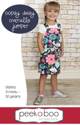 Oopsy Daisy Overalls Jumper Sewing pattern