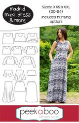Madrid Maxi Dress Pattern