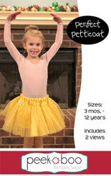 Free petticoat sewing pattern